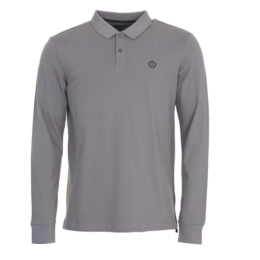 b1290bc75 Lyst - Henri Lloyd Musburry Regular Long Sleeve Polo Shirt in Gray ...