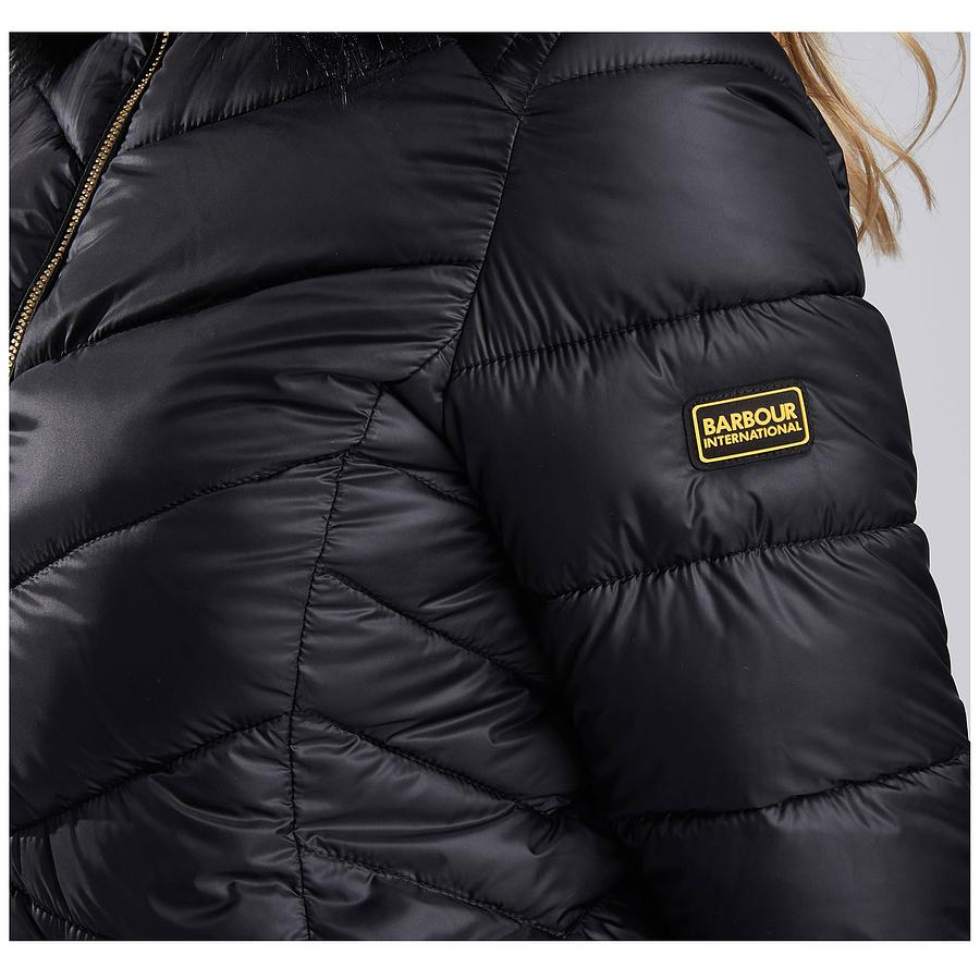 barbour turbo quilted jacket