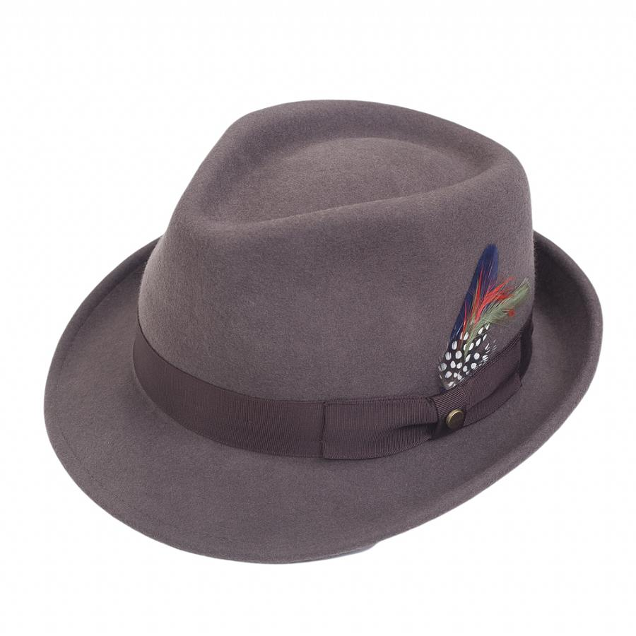 8ceb80a0 Lyst - Stetson Elkader Trilby Hat for Men