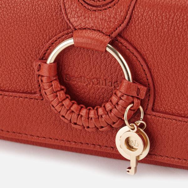e97b89cd65 See By Chloé Red Women's Hana Long Wallet