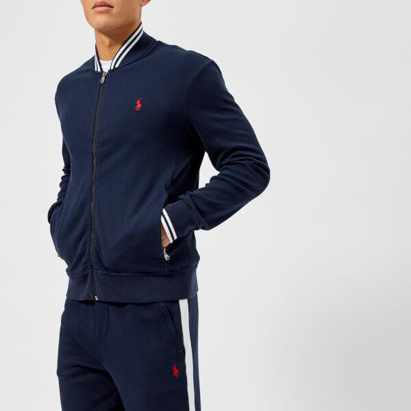 los angeles amazing selection discover latest trends Polo Ralph Lauren Cotton Men's Tipped Baseball Jacket in ...