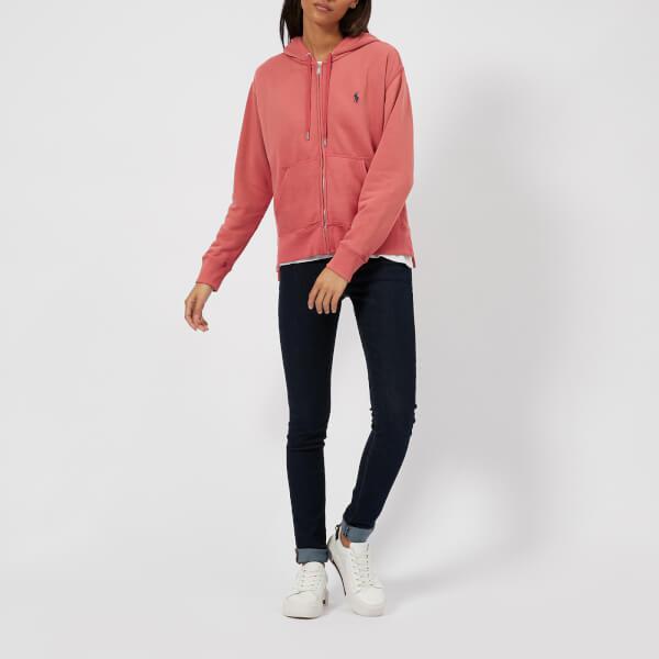 8253d7b8 Polo Ralph Lauren Red Women's Logo Hooded Sweatshirt