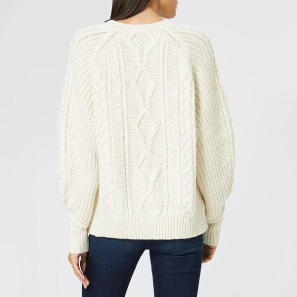 ... Women s Chunky Cable Knit Jumper - Lyst. View fullscreen 9e53aac1c