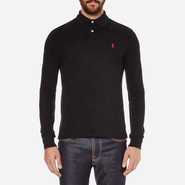 Polo Ralph Lauren Men S Slim Fit Long Sleeved Polo Shirt