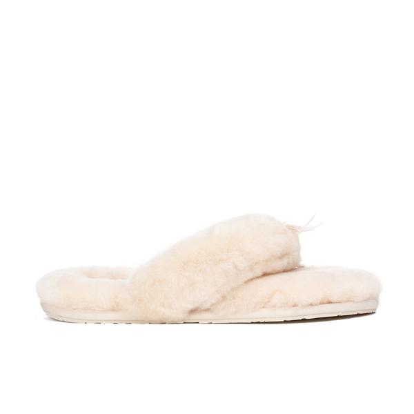 ugg fluff flip flop slippers