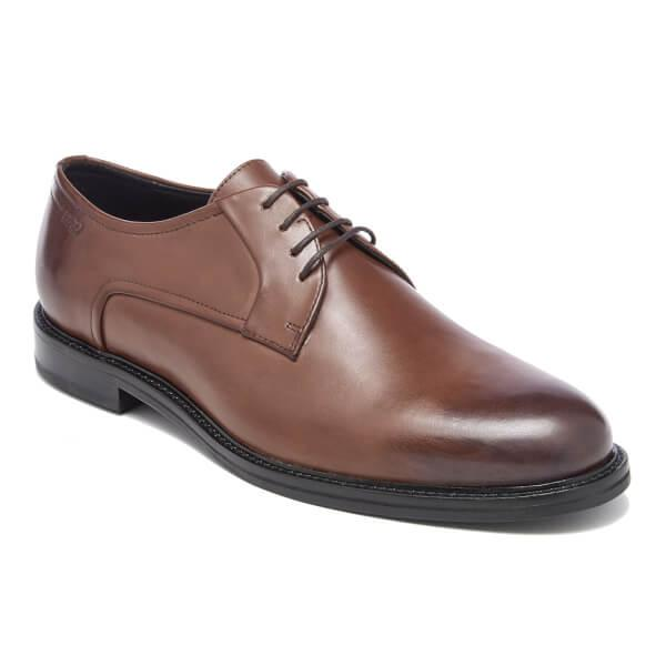Hugo Neoclass Leather Derby Shoes