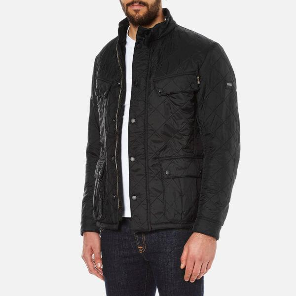 Lyst Barbour Men S Ariel Polarquilt Jacket In Black For Men