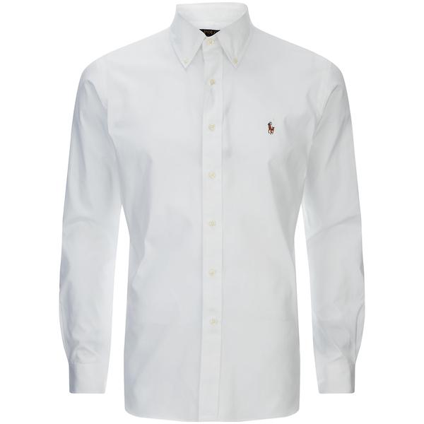 polo ralph lauren men 39 s custom fit button down pinpoint