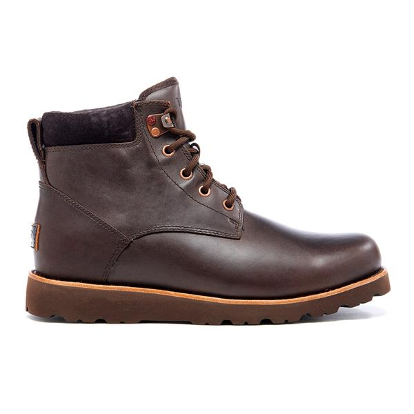 ugg mens seton tl waterproof leather lace up boots in
