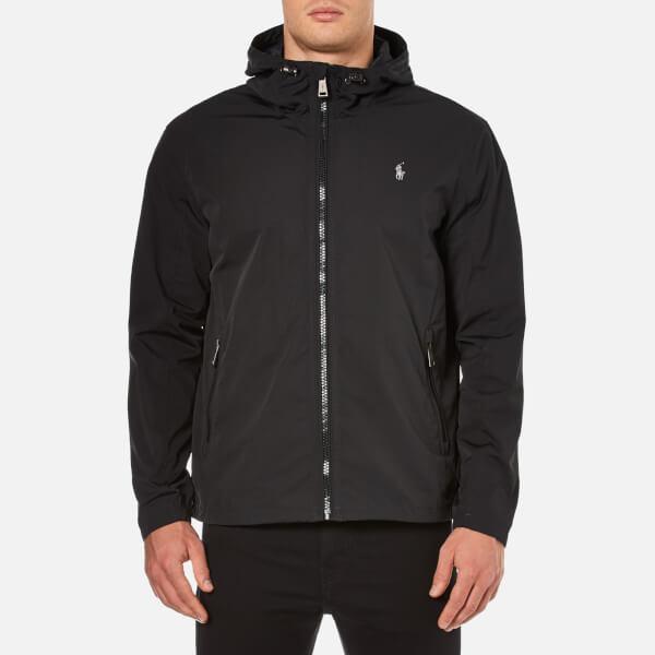 polo ralph lauren men 39 s thorpe anorak lined jacket in black for men lyst. Black Bedroom Furniture Sets. Home Design Ideas
