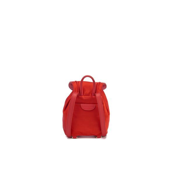 Diane Von Furstenberg Women S Satin Backpack In Red Lyst