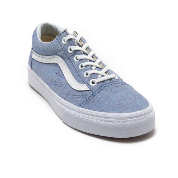 Vans Women S Old Skool Speckle Jersey Trainers In Blue Lyst
