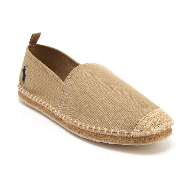 lyst polo ralph lauren men 39 s barron espadrilles in brown for men. Black Bedroom Furniture Sets. Home Design Ideas