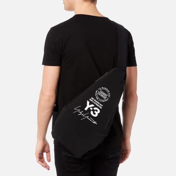 Lyst - Y-3 Y3 Yohji Messenger Bag in Black for Men 6b5511ab62d1a