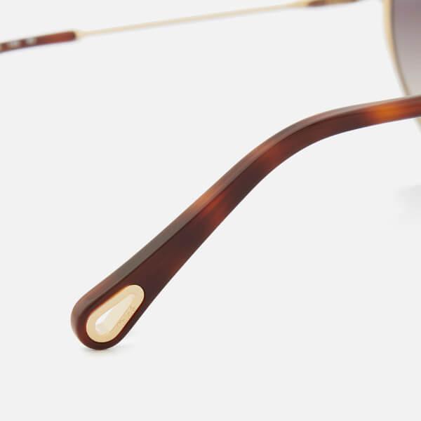 Chloé Linen Nola Frame Sunglasses