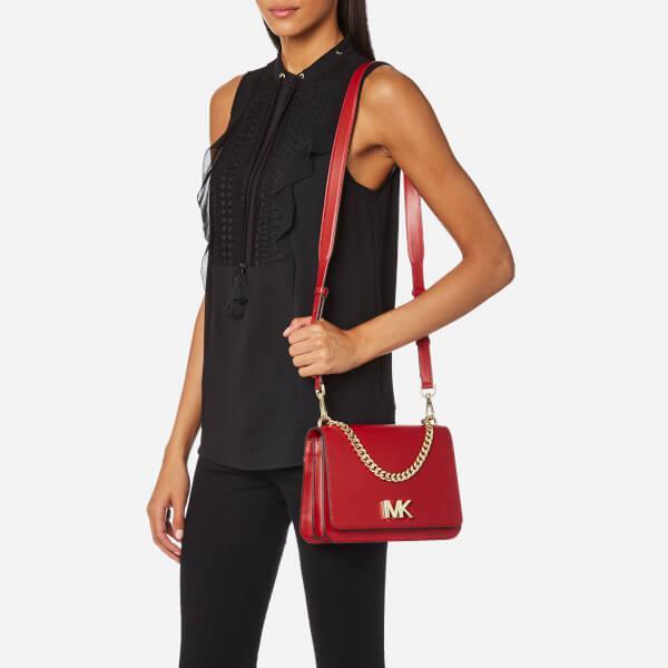 c97c290addb Lyst - MICHAEL Michael Kors Women s Mott Large Chain Swag Shoulder ...