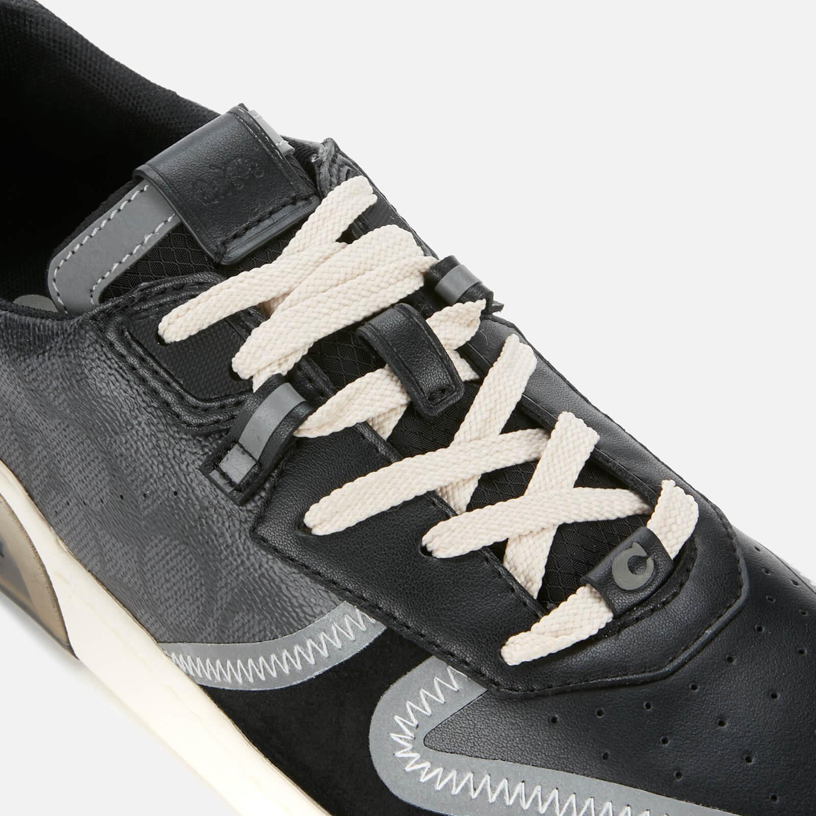 coach black tennis shoes