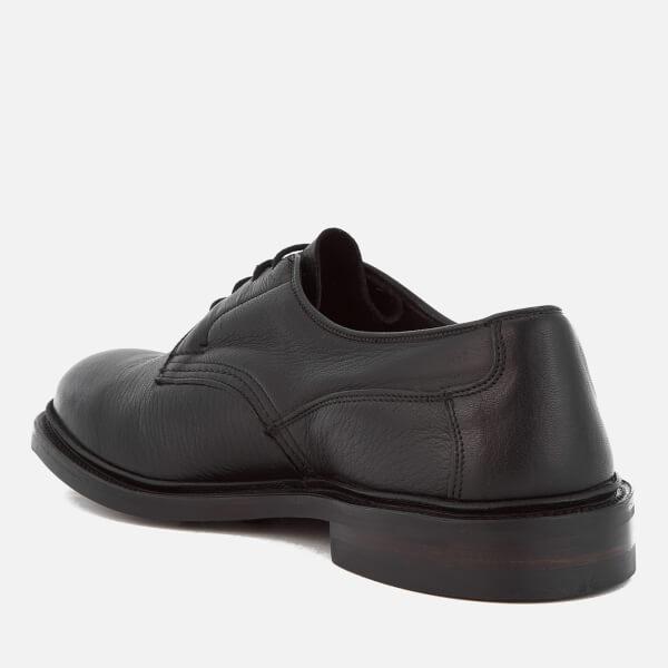 Tricker's Men's Woodstock Leather Derby Shoes in Black for Men