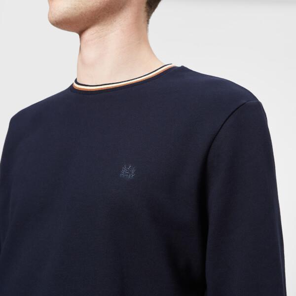 Aquascutum Men`s Wallace Crew Neck Sweatshirt