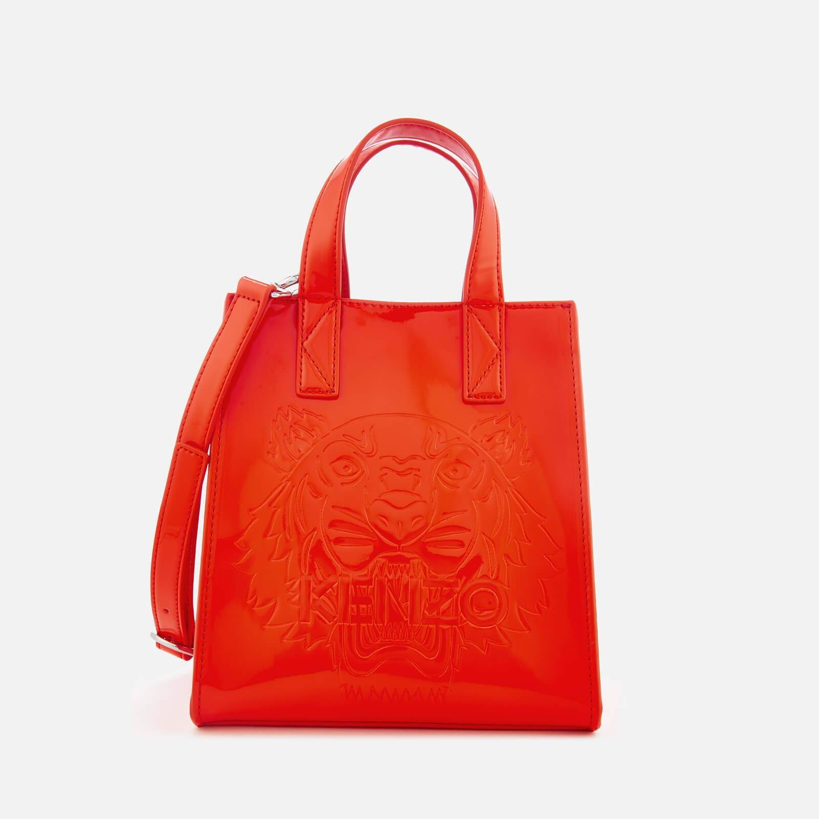 fe2dfb02 KENZO Red Icon Mini Tote Bag