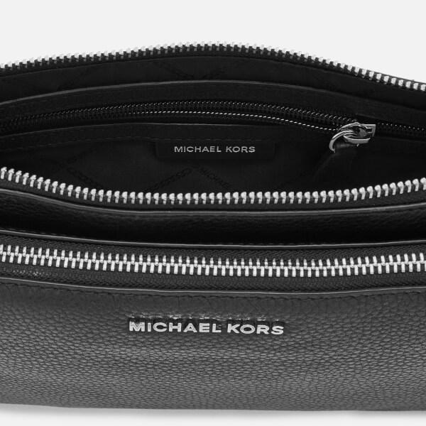 MICHAEL Michael Kors - Black Women s Adele Double Zip Cross Body Bag -  Lyst. View fullscreen 6c6cc6343e1d7