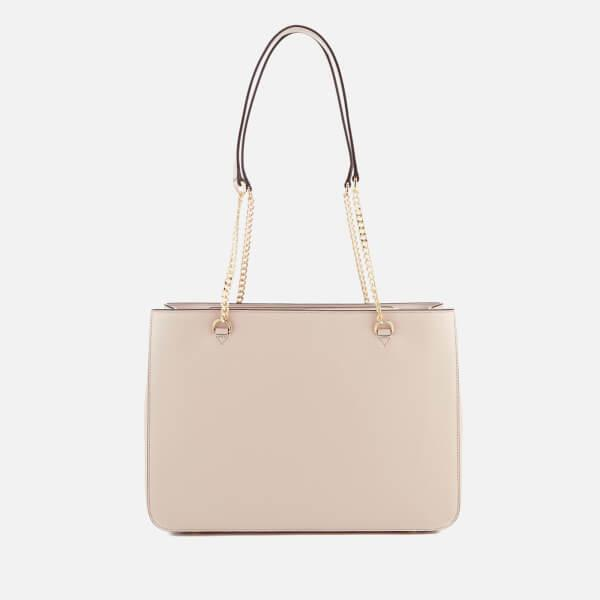 DKNY Leather Women's Bryant Large Shopper Tote Bag in Pink