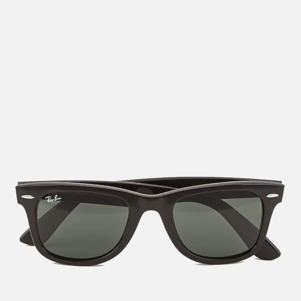 396732c0257b93 Lyst - Ray-Ban Rayban Original Wayfarer Sunglasses Black in Black ...