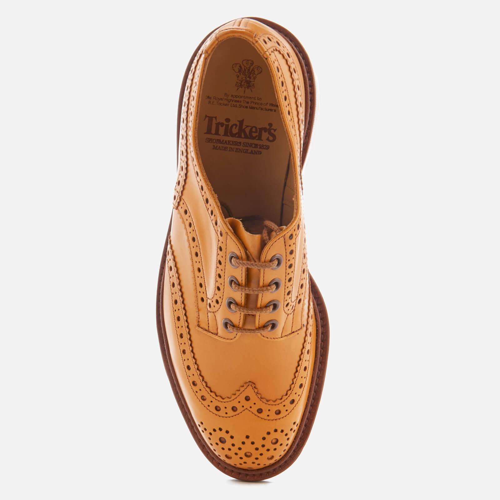 Tricker's Bourton Leather Brogues in Tan (Brown) for Men