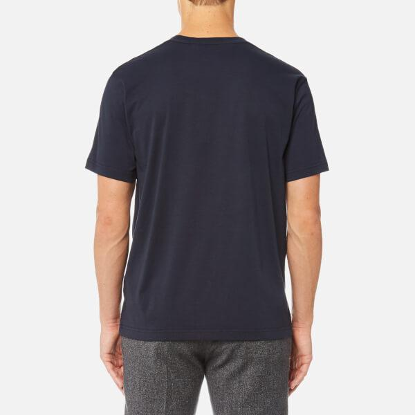 COACH Cotton Men's Tshirt With Rexy in Blue for Men