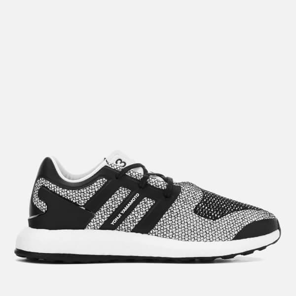 1c4694609 Y-3 Y3 Pureboost Sneakers in White - Lyst