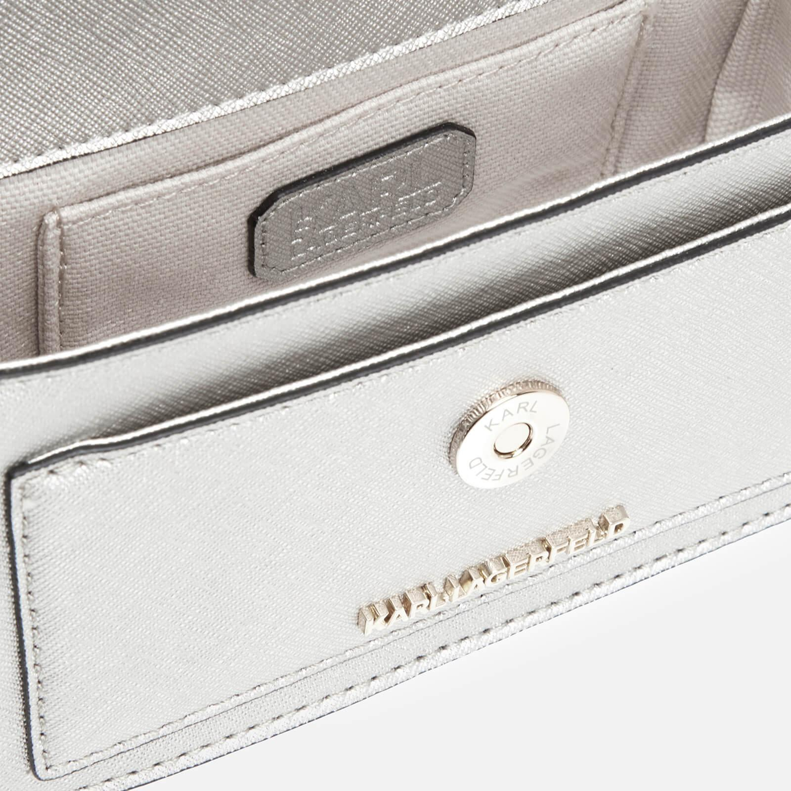 Karl Lagerfeld Leather K/klassik Mini Cross Body Bag