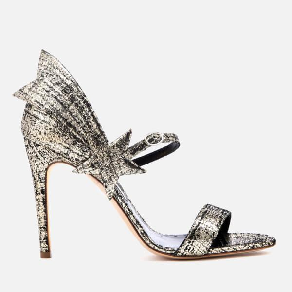 Rupert Sanderson Women s Starfire Heeled Sandals in Gray - Lyst 207323b414