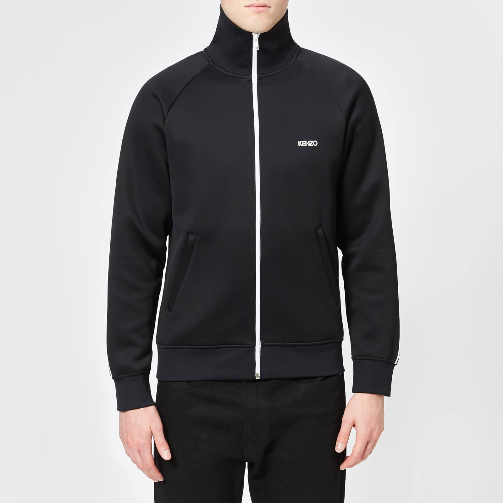 16236751 KENZO Trico Track Top in Black for Men - Lyst