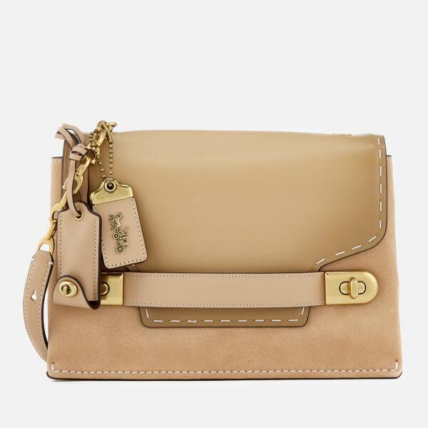 dad4d409714e COACH Women s Swagger Chain Cross Body Bag in Natural - Lyst