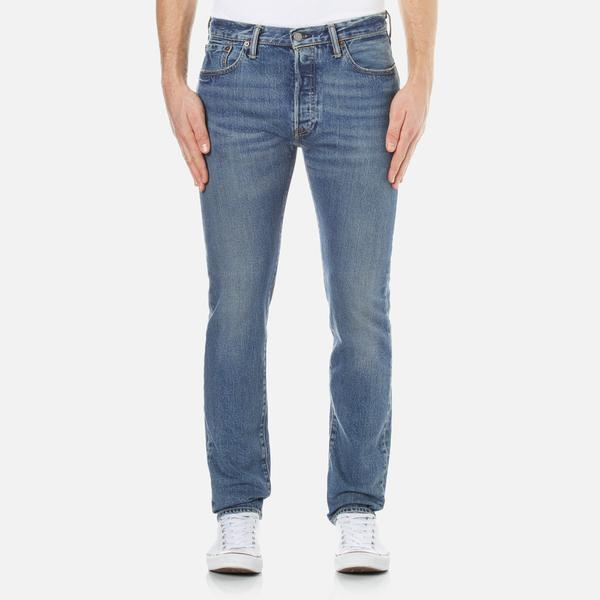 lyst levi 39 s men 39 s 501 skinny jeans in blue for men. Black Bedroom Furniture Sets. Home Design Ideas