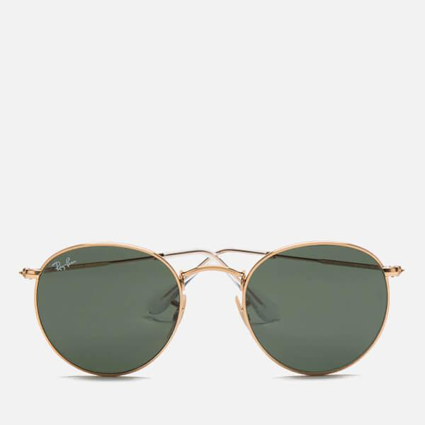 00ab81007a4b closeout ray ban aviator large metal sunglasses gold 55mm jam d452a ...