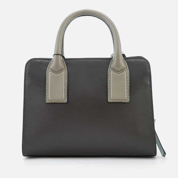 Marc Jacobs Leather Little Big Shot Tote Bag