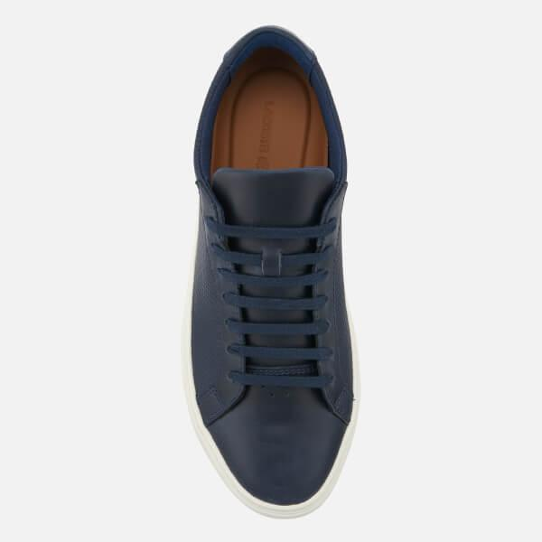 8d9215a8a133c Lacoste Men s L.12.12 113 Leather Cupsole Trainers in Blue for Men ...