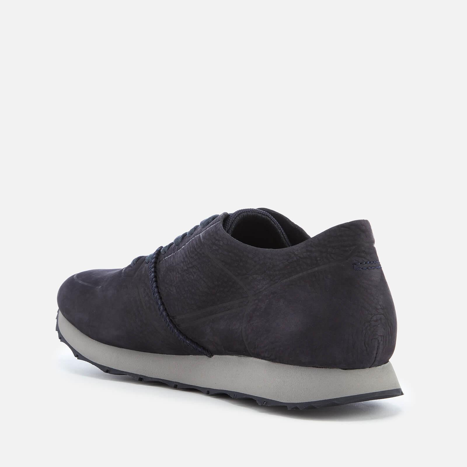 bb23282b7fe Lyst - UGG Trigo Unlined Nubuck Runner Style Trainers in Blue for Men