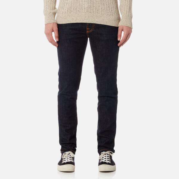 Nudie Jeans Denim Lean Dean Tight Fit Jeans in Blue for Men