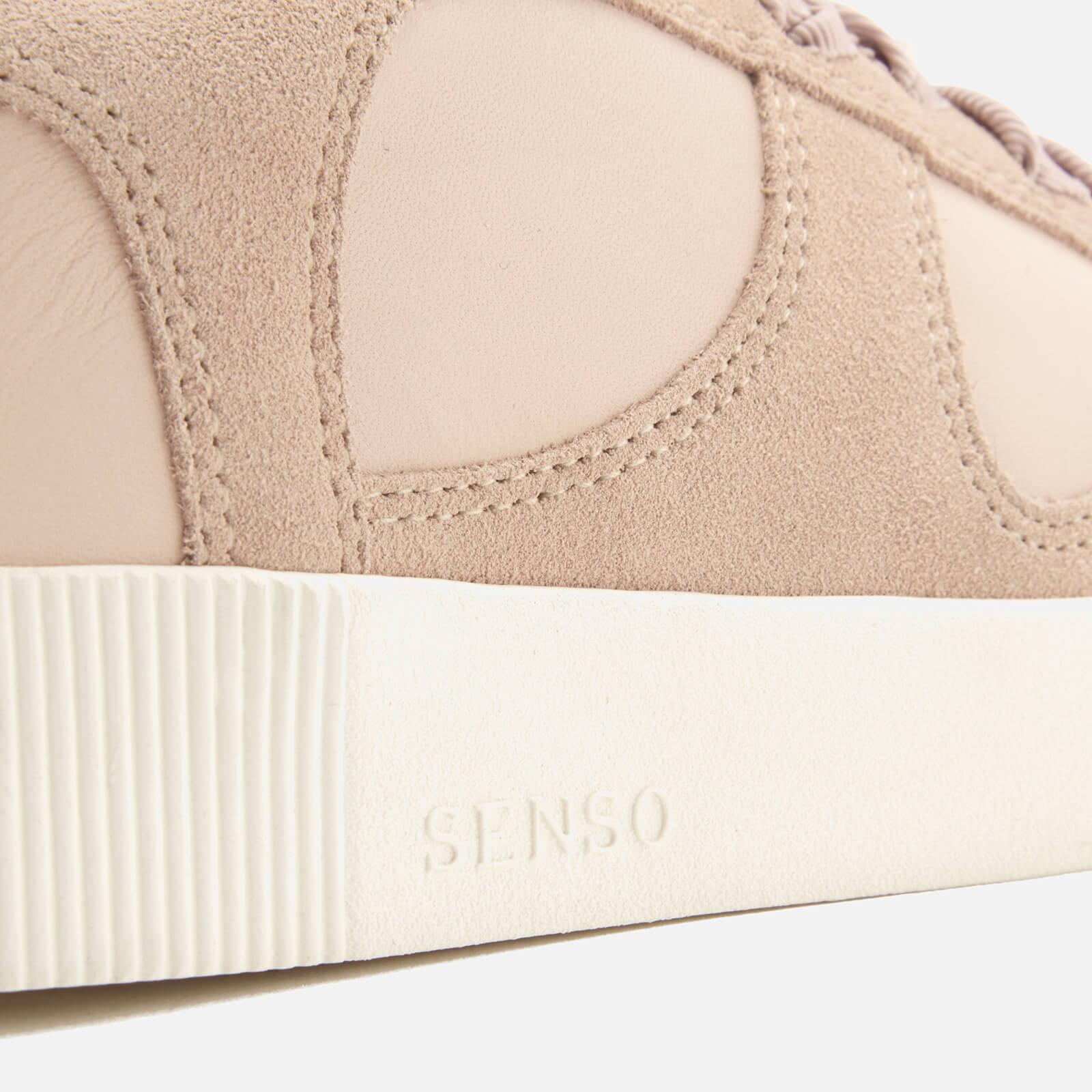 Senso Amelie Leather/suede Low Top Trainers in Nude (Natural)