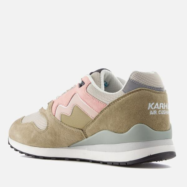 Karhu Suede Men's Synchron Classic Trainers in Green for Men