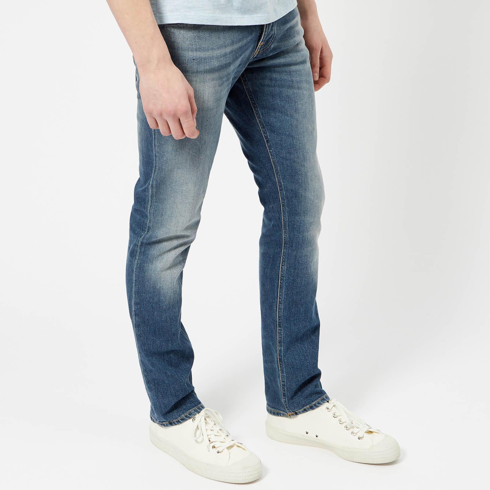 Nudie Jeans Denim Grim Tim Jeans in Blue for Men