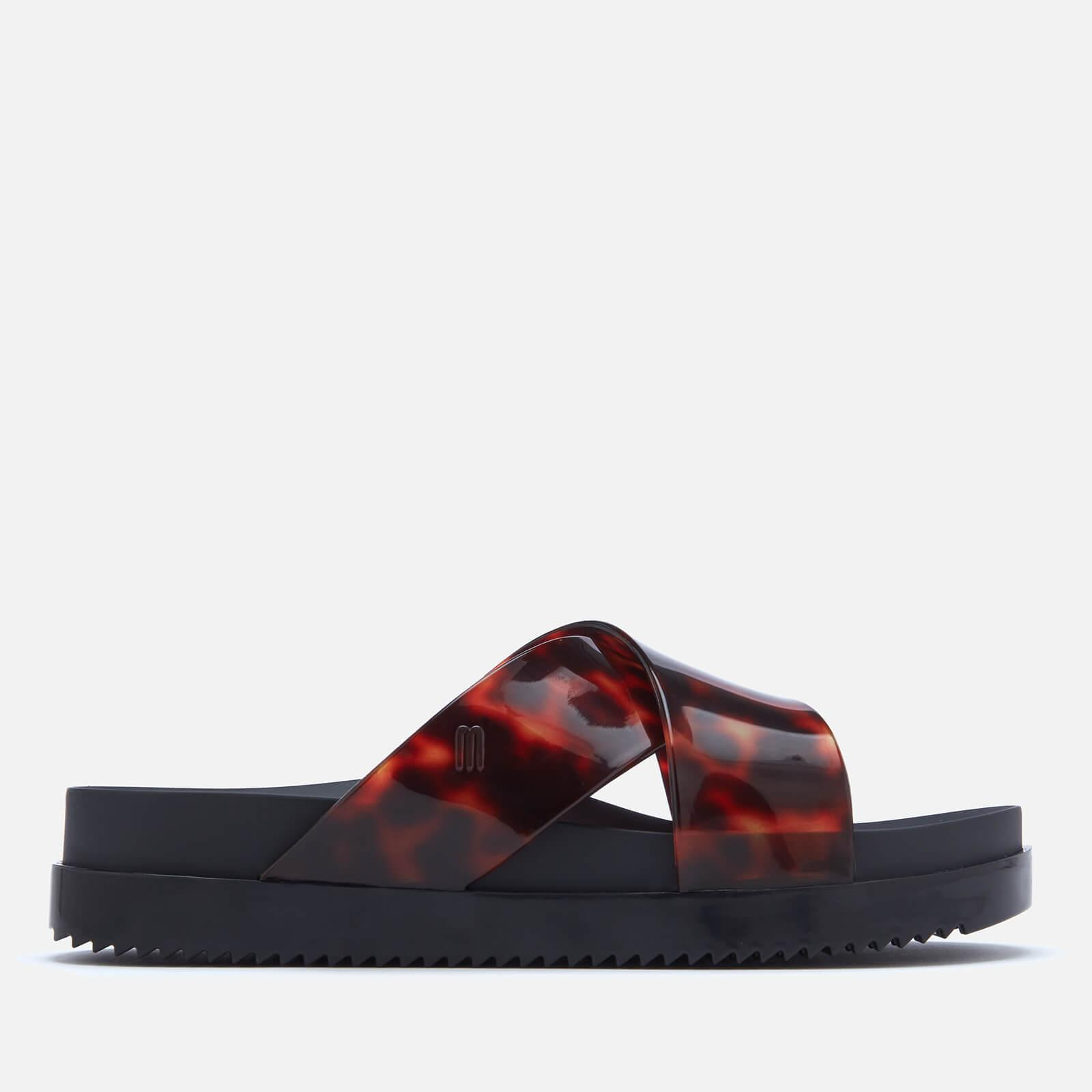 Cosmic Cross Flatform Sandals