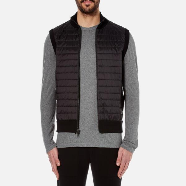 Michael Kors Synthetic Men's Padded Front Vest in Black for Men