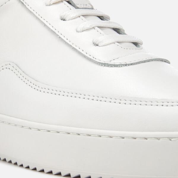 Filling Pieces Leather Men's Ripple Low Mondo Trainers in White for Men