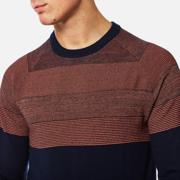 2966fec937b1ba PS by Paul Smith Men's Contrast Shoulder Knitted Jumper in Blue for ...