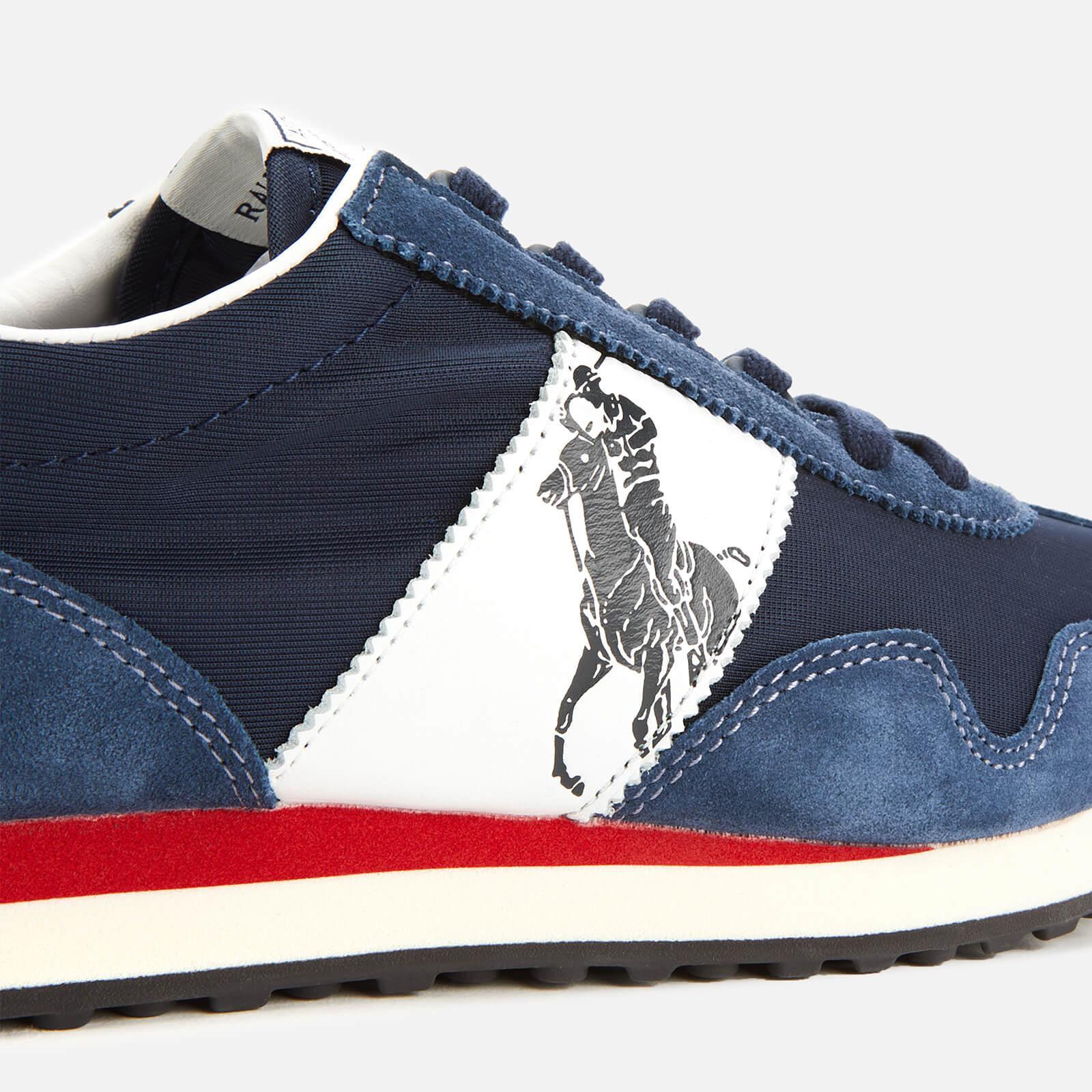 wholesale dealer 9585e 124c8 Men's Blue Train 90 Pp Runner Style Sneakers