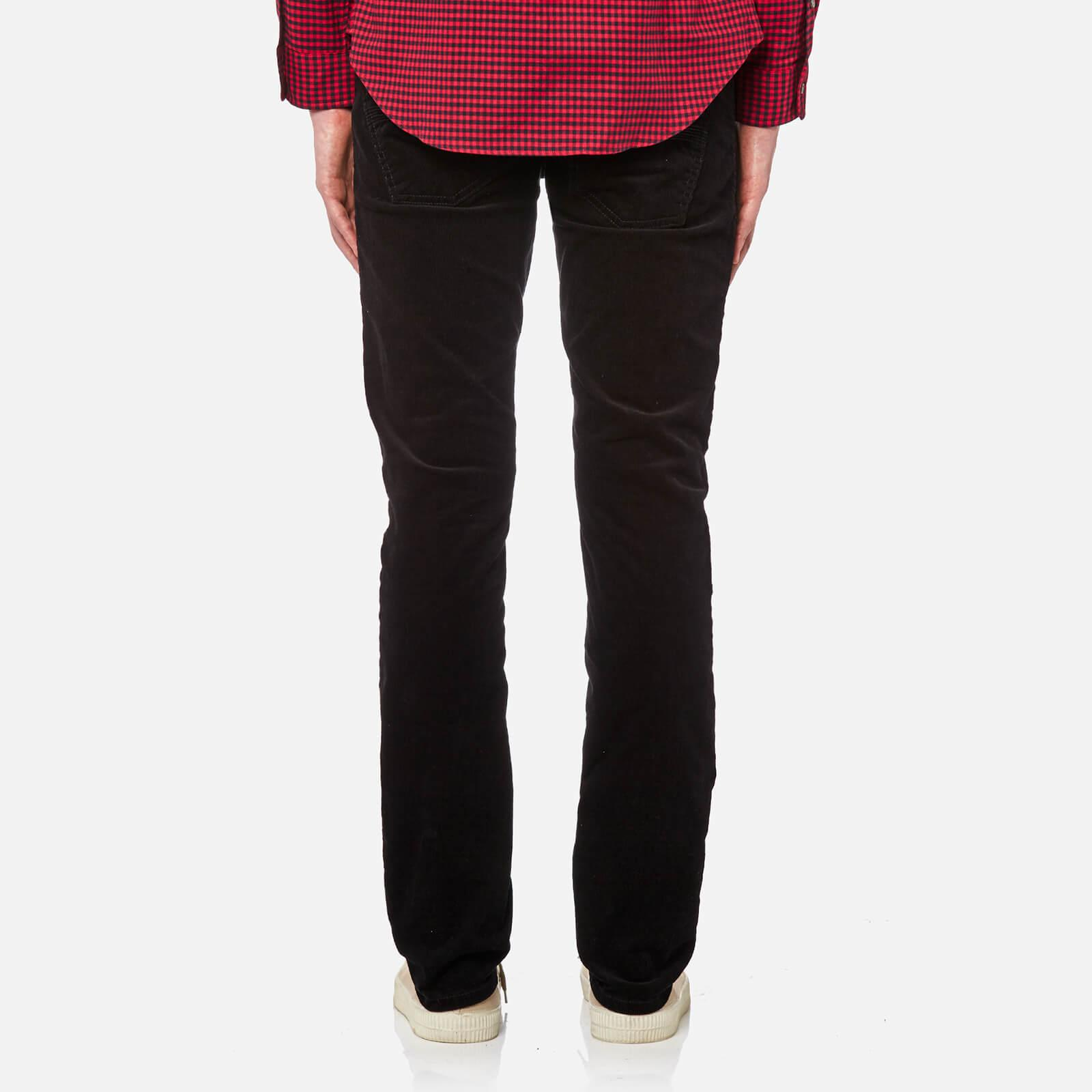Nudie Jeans Denim Grim Tim Slim Jeans in Black for Men