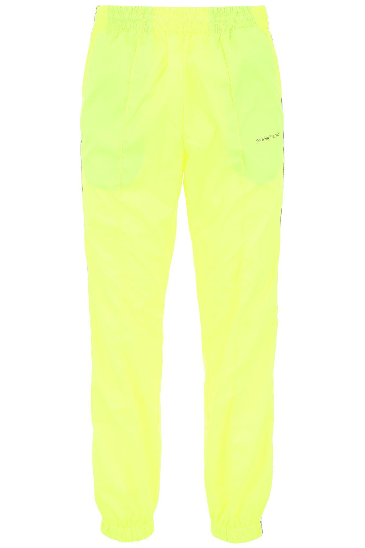Men's Yellow Fluorescent Trackpants